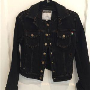 Moschino Denim Black Jacket